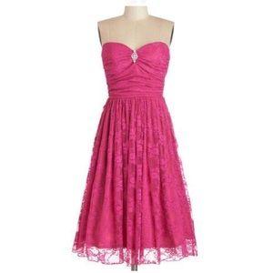 New Modcloth Midnight Mambo Dress in Magenta
